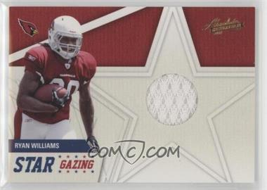 2011 Absolute Memorabilia - Star Gazing - Materials [Memorabilia] #24 - Ryan Williams