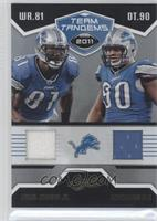 Ndamukong Suh, Calvin Johnson Jr. /50