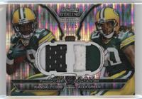 Randall Cobb, Alex Green /15