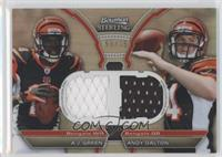 A.J. Green, Andy Dalton #/75