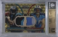 Cam Newton, Jake Locker /1 [BGS 9.5 GEM MINT]