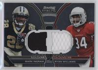 Mark Ingram, Ryan Williams