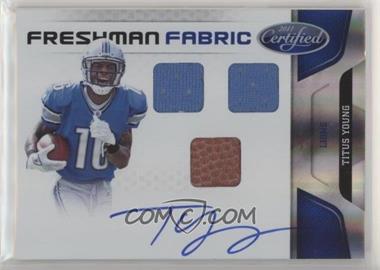 2011 Certified - [Base] - Mirror Blue #261 - Freshman Fabric - Titus Young /50