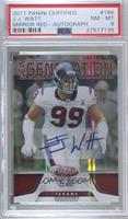 J.J. Watt [PSA 8 NM‑MT] #/250