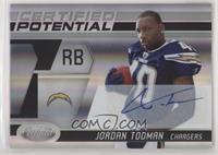 Jordan Todman #/50