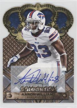 2011 Crown Royale - [Base] - Gold Signatures [Autographed] #101 - Aaron Williams /499