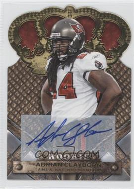 2011 Crown Royale - [Base] - Gold Signatures [Autographed] #102 - Adrian Clayborn /499