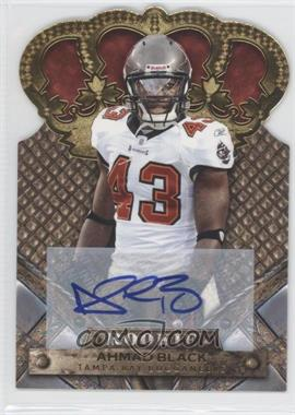 2011 Crown Royale - [Base] - Gold Signatures [Autographed] #103 - Ahmad Black /499