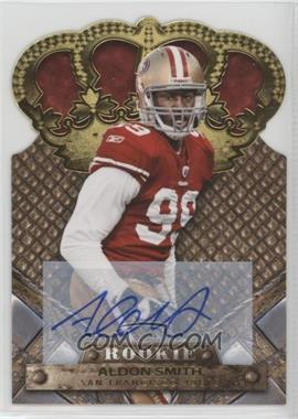 2011 Crown Royale - [Base] - Gold Signatures [Autographed] #105 - Aldon Smith /499