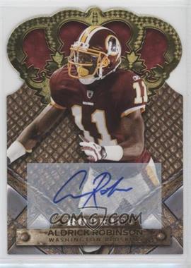 2011 Crown Royale - [Base] - Gold Signatures [Autographed] #106 - Aldrick Robinson /499