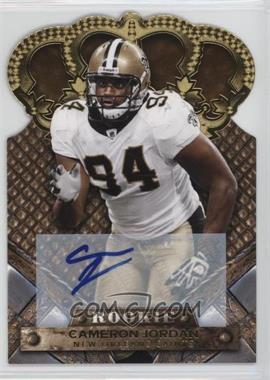 2011 Crown Royale - [Base] - Gold Signatures [Autographed] #115 - Cameron Jordan /499