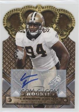 2011 Crown Royale - [Base] - Gold Signatures [Autographed] #115 - Cameron Jordan /499