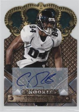 2011 Crown Royale - [Base] - Gold Signatures [Autographed] #116 - Cecil Shorts III /499