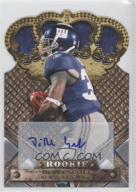 2011 Crown Royale - [Base] - Gold Signatures [Autographed] #121 - Da'Rel Scott /499