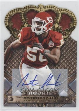 2011 Crown Royale - [Base] - Gold Signatures [Autographed] #151 - Justin Houston /499
