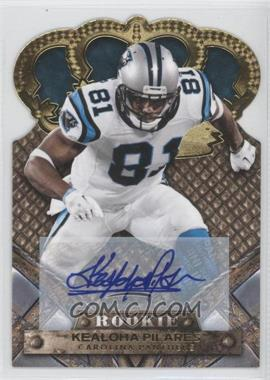 2011 Crown Royale - [Base] - Gold Signatures [Autographed] #152 - Kealoha Pilares /499