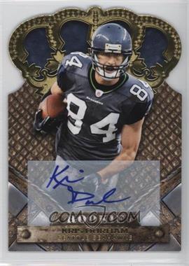 2011 Crown Royale - [Base] - Gold Signatures [Autographed] #154 - Kris Durham /499