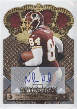 2011 Crown Royale - [Base] - Gold Signatures [Autographed] #170 - Niles Paul /499