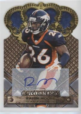 2011 Crown Royale - [Base] - Gold Signatures [Autographed] #177 - Rahim Moore /499