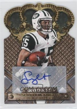 2011 Crown Royale - [Base] - Gold Signatures [Autographed] #188 - Scotty McKnight /499