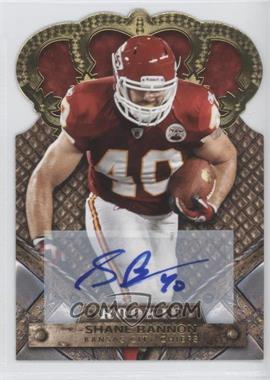 2011 Crown Royale - [Base] - Gold Signatures [Autographed] #189 - Shane Bannon /499