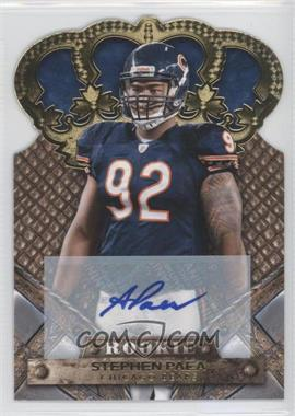 2011 Crown Royale - [Base] - Gold Signatures [Autographed] #193 - Stephen Paea /499