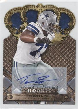 2011 Crown Royale - [Base] - Gold Signatures [Autographed] #199 - Tyron Smith /499