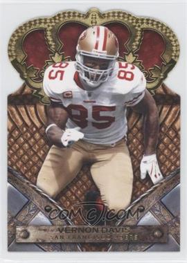 2011 Crown Royale - [Base] - Gold #98 - Vernon Davis /25