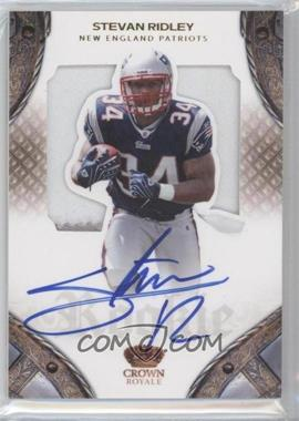 2011 Crown Royale - [Base] #233 - Stevan Ridley /299