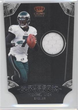 2011 Crown Royale - Majestic - Materials [Memorabilia] #6 - Michael Vick /299