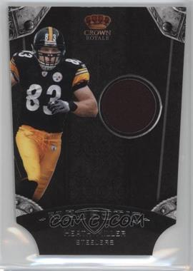 2011 Crown Royale - Majestic - Materials [Memorabilia] #9 - Heath Miller /299