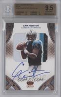 Cam Newton /50 [BGS 9.5 GEM MINT]