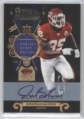 2011 Crown Royale - Rookie Royalty - Materials Prime Signatures [Autographed] [Memorabilia] #20 - Jonathan Baldwin /25