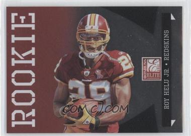 2011 Donruss Elite - [Base] - Rookie Variations #156 - Roy Helu Jr. /999