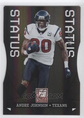 2011 Donruss Elite - [Base] - Status Black Die-Cut #39 - Andre Johnson /24