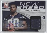 Jordan Todman #/25