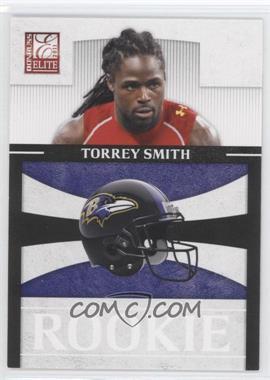 2011 Donruss Elite - Rookies - NFL Team Logo #10 - Torrey Smith /999