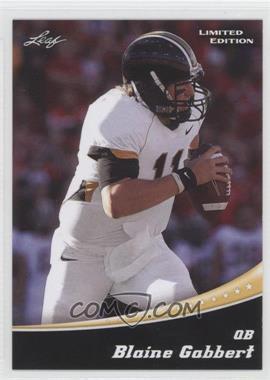 2011 Leaf Draft - Limited Edition #3.2 - Blaine Gabbert
