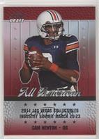 Leaf Draft All American - Cam Newton