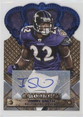 2011 Panini Crown Royale - [Base] - Blue Signatures [Autographed] #145 - Jimmy Smith /50