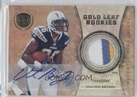 Vincent Brown #/25