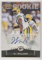 D.J. Williams #/299