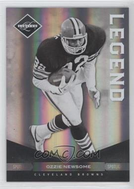 2011 Panini Limited - [Base] - Spotlight Silver #101 - Ozzie Newsome /50
