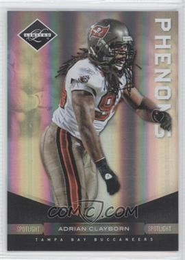 2011 Panini Limited - [Base] - Spotlight Silver #152 - Adrian Clayborn /50