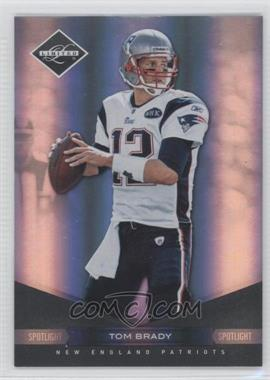 2011 Panini Limited - [Base] - Spotlight Silver #58 - Tom Brady /50