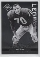 Legends - Sam Huff #/499