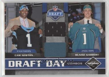 huge discount 6ede0 a6051 2011 Panini Limited - Draft Day Player Combos Materials #1 ...