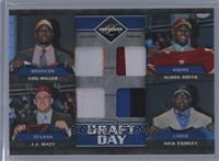 J.J. Watt, Aldon Smith, Nick Fairley, Von Miller /25