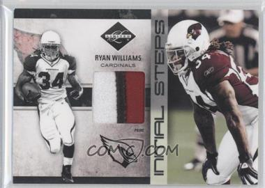 2011 Panini Limited - Initial Steps - Materials Jerseys Prime #18 - Ryan Williams /25