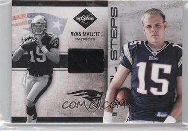 2011 Panini Limited - Initial Steps - Materials Shoes #25 - Ryan Mallett /99